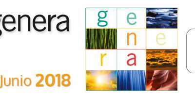 GENERA / 13-15 Junio 2018