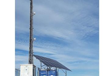 Instalación híbrida FV para torre de telecomunicaciones off grid en Murcia