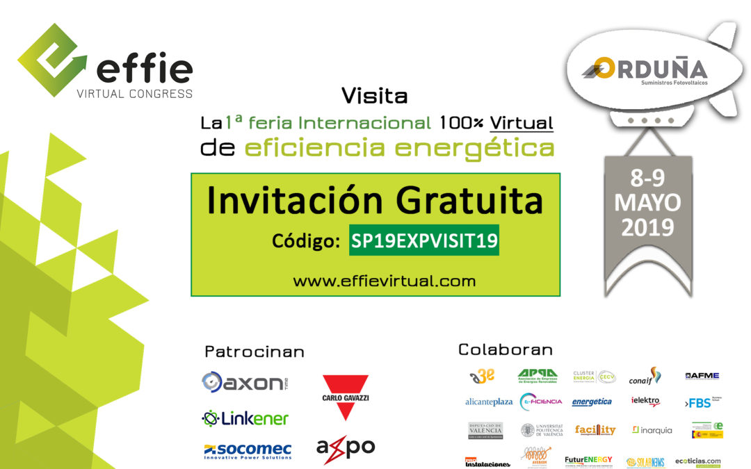 Estaremos en la 1ª Edición de Effie Virtual Congress