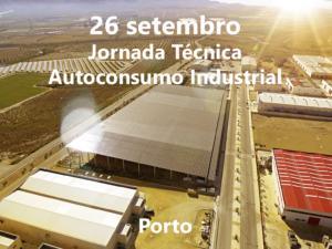 jornada Suministros Orduña 26 septiembre oporto, portugués. Autoconsumo industrial