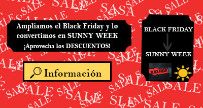 Ampliamos el Black Friday y lo convertimos en SUNNY WEEK