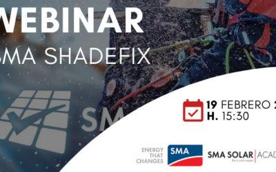Novo Seminário Web da SMA: Shadefix