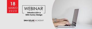 Nuevo Webinar de SMA:  SMA Sunny Design