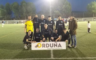 Suministros Orduña é Patrocinadora de uma Equipa de Futebol