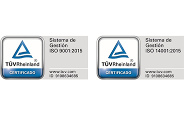 Renovación de los Certificados ISO 9001:2015 y 14001:2015