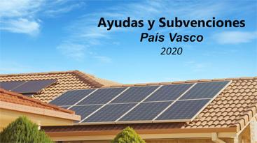 Programa de ayudas a inversiones en instalaciones de energías renovables para autoconsumo eléctrico 2020. País Vasco