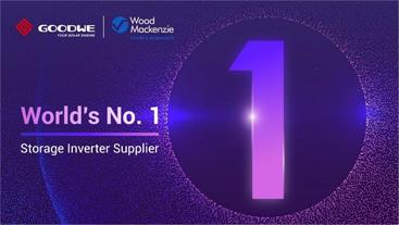 GOODWE, líder en el ranking mundial de fabricantes de inversores híbridos de Wood Mackenzie