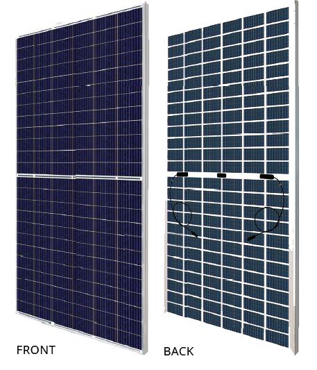 CANADIAN SOLAR – BiHiKu 390-415 W 144 Células Poly