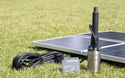 PS2-100: el sistema de bombeo solar de alta eficiencia de LORENTZ para bajas necesidades hídricas
