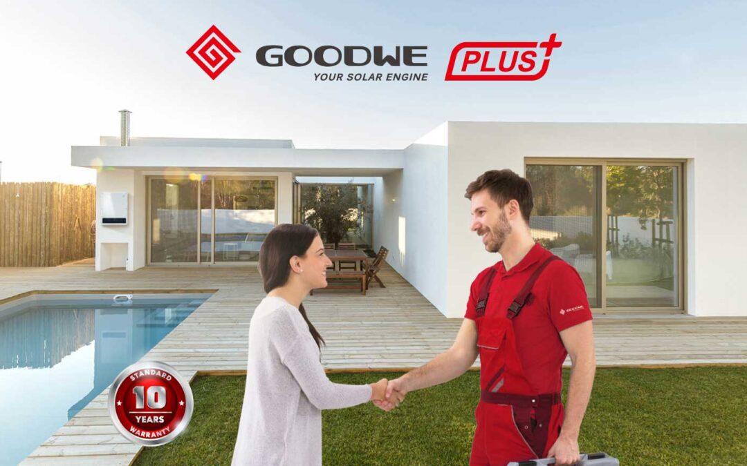 GoodWe PLUS +, el programa de fidelización de GoodWe