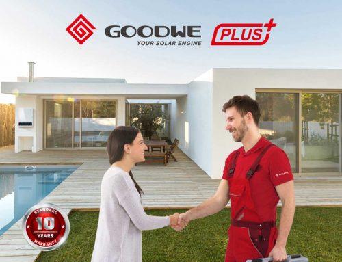 GoodWe PLUS +, novas datas em maio