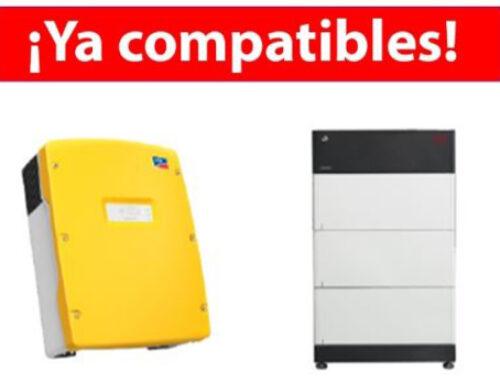 Compatibilidade com Sunny Island 4.4M / 6.0H / 8.0H e baterias BYD Premium LVS