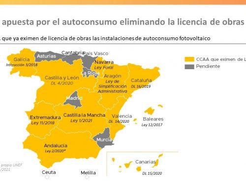 A licença de construção para autoconsumo é eliminada em Navarra