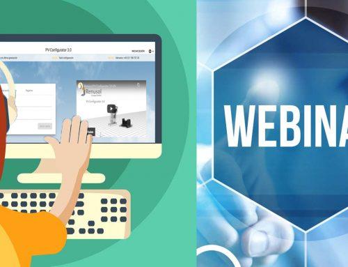 Trainamento online: PV Configurator 3.0 da Renusol