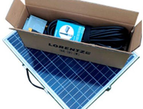 Solução com PS2-100 da LORENTZ para necessidades de bombeamento solar