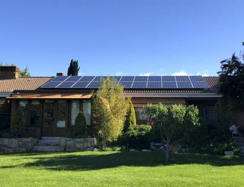 Nueva instalación fotovoltaica de autoconsumo residencial con Canadian Solar, GoodWe y Renusol