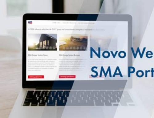 SMA lança site em português