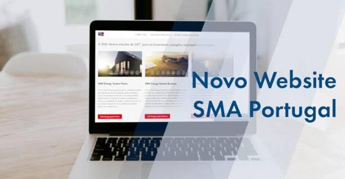 novo website SMA portugal