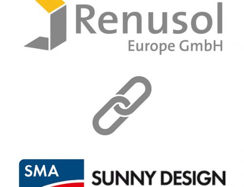 Renusol y SMA conectan sus herramientas de diseño