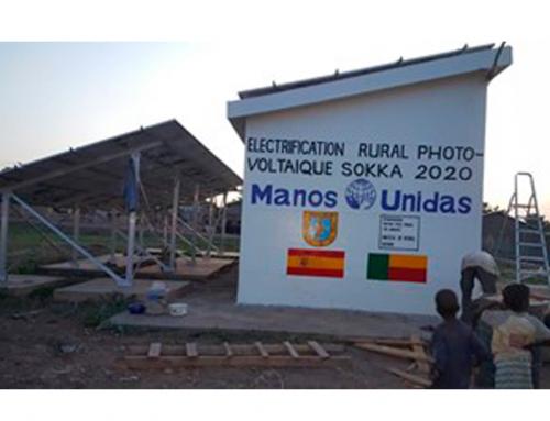 Desarrollo de la electrificación en el medio rural en Benín